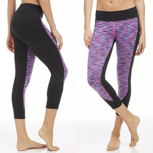 Fabletics Sydney Powerhold Capri Black Leggings